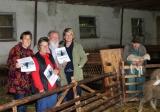 Von links: Kulturreferentin Anja Schinzel, Sofie Müller, Willibald Lang, 1. Bürgermeisterin Sandra Dietrich-Kast und Anton Briegel - Foto: Karl Andreas Mayer
