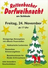 Einladung zur Rettenbacher Dorfweihnacht