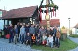 Maibaumstellen in Remshart - Foto: Willibald Lang